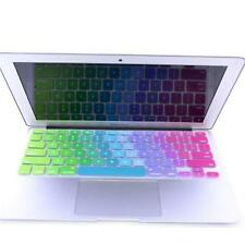 """Colorful Silicone Keyboard Protect Cover Skin Film For MacBook Air 13.3"""" 15"""" 17"""""""