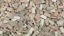 1/72 Scale bricks (RF) terracotta mixed shades 5000 pcs 00 gauge railway / train