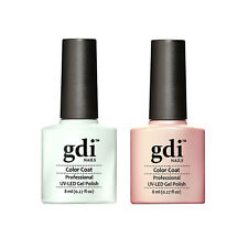 GDI NAILS - FRENCH MANICURE TWIN PACK UV LED SOAK OFF GEL NAIL POLISH