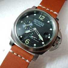PARNIS MARINA MILITARE REGATTA 44mm AUTOMATIC POWER RESERVE SEAGULL HOMAGE