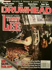 Drum Head Hangin' With Tommy Lee Free CD Download Lessons Feb 2015 FREE SHIPPING