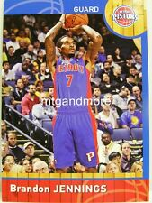 PANINI NBA (ADRENALYN XL) 2013/2014 - #131 Brandon Jennings-Detroit Pistons