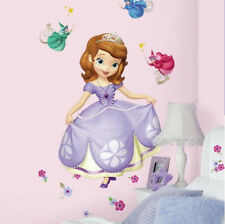SOFIA THE FIRST wall stickers MURAL 23 stickups fairy godmother Disney Princess
