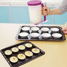 Batter Dispenser Cup cake Pancake Muffin Waffles Jug Pastry Cup Mix Baking Tool