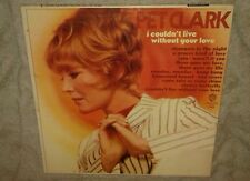 PET CLARK, I COULDN'T LIVE WITHOUT YOUR LOVE, 1966 MONO VINYL LP GOOD+ cover VG+