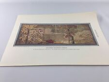 Vintage Print ~ Japanese Magnolia  Screen ~ From 1934 Encyclopedia ~ Ships FREE!