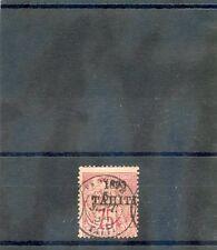 TAHITI Sc 28(YT 30)AVG USED, 1893 1F OLIVE, $135