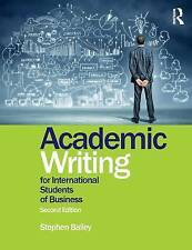 Academic Writing for International Students of Business [Paperback]