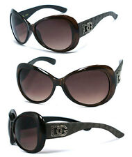 DG Womens Ladies Elegant Butterfly Shape Sunglasses - Brown Shades DG156