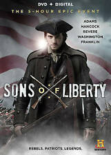 BEN BARNES, HENRY THOMAS + ~ SONS OF LIBERTY 5-HOUR EPIC EVENT ~ 2 DVD SET