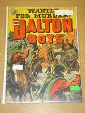 DALTON BOYS #1 G (2.0) AVON COMICS 1951