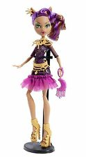 Monster high frights camera action tapis noir clawdeen wolf neuf et emballé