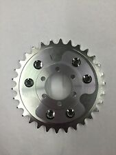 MOTORIZED BICYCLE REAR CNC 30T SPROCKET AND DISC ADAPTER