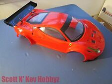 Kyosho IGB108 Ferrari 458 Italia Completed Painted Body for Inferno GT2