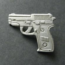 SIG SAUER 9MM PISTOL GUN NOVELTY LAPEL PIN BADGE 1 INCH