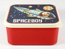 """Frischhalte-Dose, Brotdose, Kinder-Lunchbox, Kunststoff, Retro-Motiv """"Spaceboy"""""""