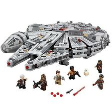 Lego STAR WARS MILLENIUM FALCON 75105 ship. Force Awakens. 1381 pieces fits Lego