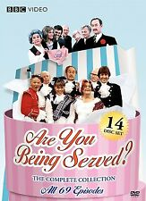 New Are You BeingServed: The Complete Collection All 69 (DVD, 2009, 14-Disc Set)