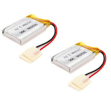 2PCS SYMA S107 S107-19 LiPo 3.7V 240mAh Replacement RC Battery For RC Helicopter