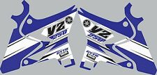 Graphics for 2002-2014 Yamaha YZ250 YZ 250 UFO Restyled shrouds Decal Stickers
