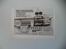 advertising Pubblicità 1981 PASSAP DUOMATIC S DECO