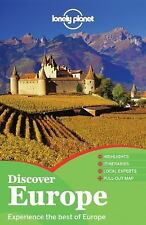 Lonely Planet Discover Europe (Full Color Multi Country Travel Guide)-ExLibrary