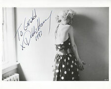 "DEBBIE HARRY in UNION CITY (1980) Hand-signed 8"" x 10"" portrait"