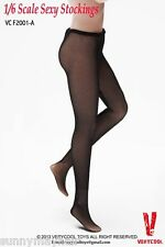 "VERYCOOL 1:6 Sexy Female Black Lace Mesh Woman Stockings f 12""Action Figure"