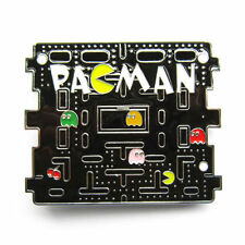 New Metal Pacman Pac Man Video Game Belt Buckle