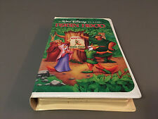 Walt Disney Home Video CLASSIC Robin Hood BLACK DIAMOND  (VHS#1189)