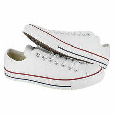 CONVERSE CT STAR Bajo Entrenadores. OPTICAL ALL lienzo blanco, tamaño 17 UK, 53 EU, nuevo