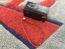 12V 1.3AH Sealed Rechargeable Lead Acid Battery With Connecting Wire Sales