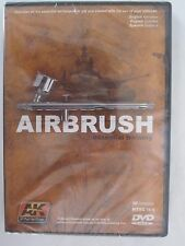 DVD: Airbrush Essential Training by AK Interactive ~ 57 minutes