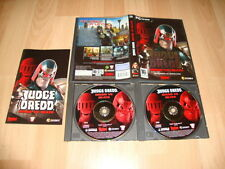 JUDGE DREDD DREDD VS DEATH PARA PC CON 2 DISCOS USADO COMPLETO EN BUEN ESTADO
