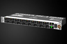 REVIVE AUDIO MODDED: BEHRINGER ADA8000, EIGHT CHANNEL AD/DA CONVERTER, LIGHTPIPE