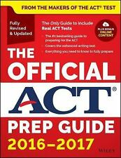 The Official ACT Prep Guide, 2016-2017 by Act (Paperback)