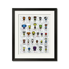 A Bathing Ape Baby Milo Safari A To Z Bape Poster Print