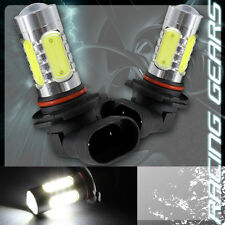2x For GMC Honda 9005 HB3 White 10 LED Projector High Low Beam Daytime DRL Bulbs
