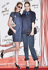 Lanvin x Acne Denim Dress  SZ 36 = Fits US SZ S - Pre-owned