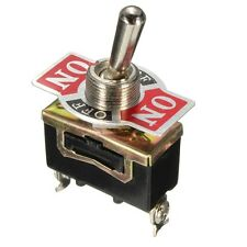 Heavy Duty Metal Toggle Flick Switch ON/OFF/ON 12V SPDT
