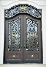 "Custom Made 72"" X 108"" Wrought Iron Doors in 12 Gauge Steel - $4,285"