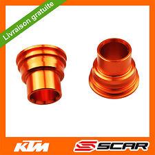 ENTRETOISES DE ROUE ARRIERE KTM SX SXF EXCF 85 125 150 250 350 450 03-14 ORANGE