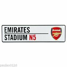 Arsenal FC Hanging Metal Sign Novelty Number Plate Sign Emirates Stadium N5 New