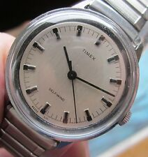 Nice VTG 1971 Timex Self Winding On Period Expansion Band Keeps Excellent Time