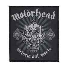 MOTORHEAD Patch VICTORIA AUT MORTE closer to Heavy Metal ♫ ♪ Rock and Roll ♫