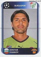 N°193 IVANKOV # BULGARIA BURSASPOR UEFA CHAMPIONS LEAGUE 2011 STICKER PANINI