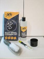 CAR ALLOY WHEEL CLEAN SET CLEANING KIT SHINES PROTECTS ALLOYS AutoXS