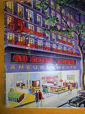 catalogue d'ameublement - meuble - au bois doré - année 50 ( ref 11 )