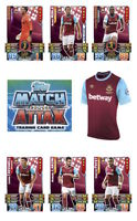 Match Attax 2015/16 Trading Cards. Individual Base Cards West Ham United 344-360