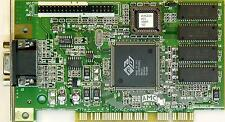 ATI 3D RAge IIc 4MB PCI Video graphic Card, used, 109-40600-10, tested